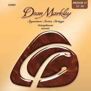 Dean Markley Vintage Bronze Acoustic Guitar Strings, ML12-54, Made in USA, 2004 for sale
