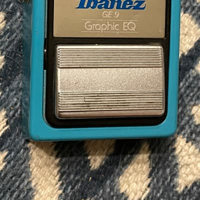 Ibanez GE9 Graphic EQ silver label Japan