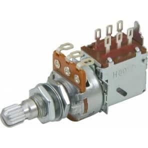DiMarzio EP1200PP  DPDT Push/Pull Potentiometer 250k Audio Taper