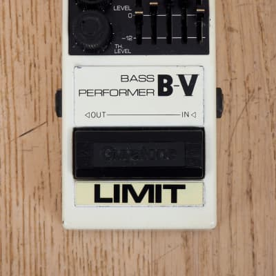 1990s Guyatone B-V Bass Performer PS-041 Tokyo Sound Co.  Five-Band EQ Limiter Effects Pedal Japan for sale