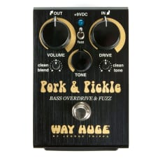 Way Huge Pork & Pickle Bass Overdrive Fuzz Electric Guitar Effect Pedal Stompbox