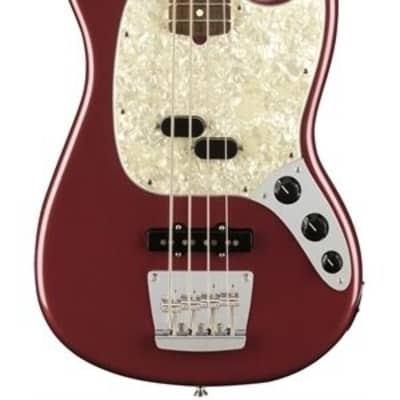 Fender American Performer Mustang Bass Aubergine