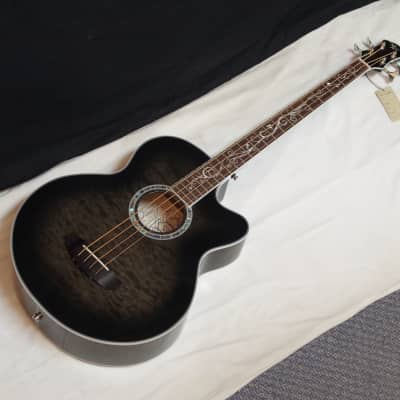 NEW Michael Kelly Dragonfly 4 string acoustic bass guitar - Smoke Burst for sale