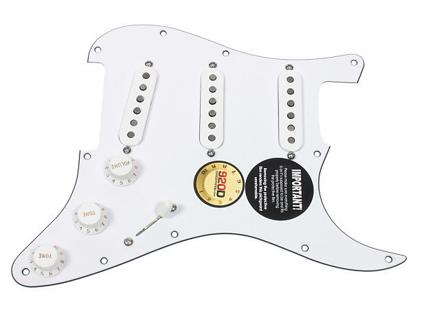 fender tex mex 920d loaded pre wired strat pickguard wh wh reverb. Black Bedroom Furniture Sets. Home Design Ideas