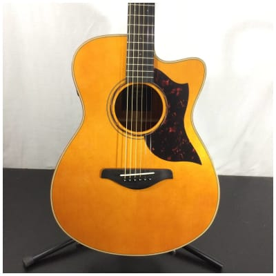 Yamaha AC3M ARE VN Concert Size Mahogany Body Acoustic Electric Guitar