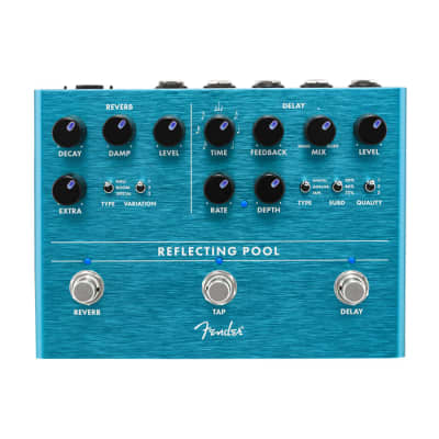 NEW Fender Reflecting Pool Delay/Reverb for sale