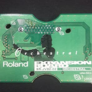 Roland SR-JV80-02 Orchestral Expansion Board for JV