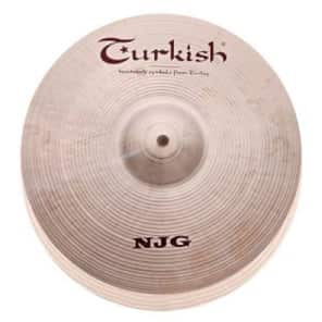 "Turkish Cymbals 14"" New Jazz Generation Series NJG Hi-Hat Pair NJG-H14 (Pair)"