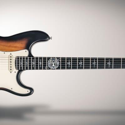 Mithans Guitars The Master (vintage sunburst)  boutique electric guitar for sale