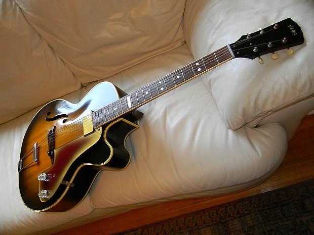 Vega E-201 1959 Original Sunburst | Awesome Vintage Guitars