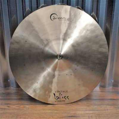 """Dream Cymbals VBCRRI18 Vintage Bliss Hand Forged & Hammered 18"""" Crash Ride Demo"""