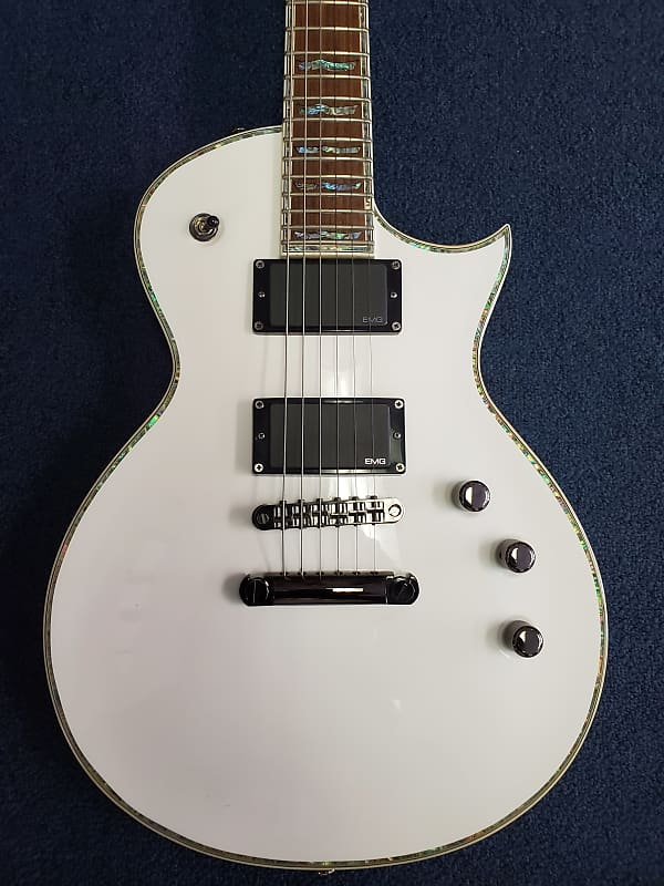 esp ltd ec 1000 deluxe olympic white carlos 39 s shop reverb. Black Bedroom Furniture Sets. Home Design Ideas
