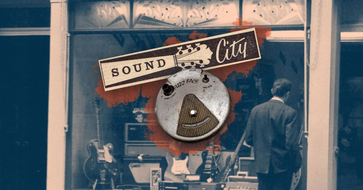 Sound City: The London Music Shop Where the Fuzz Face Was Born