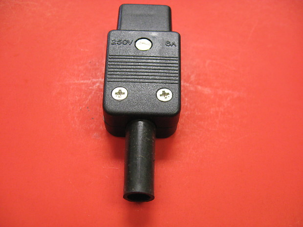 3-Pin Female In-Line Socket Terminal Connector 250v 6A | Reverb