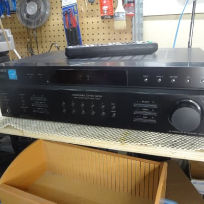 Sony STR-DE197 Stereo Receiver w Remote & Manual - Fully Tested - Fair Condition