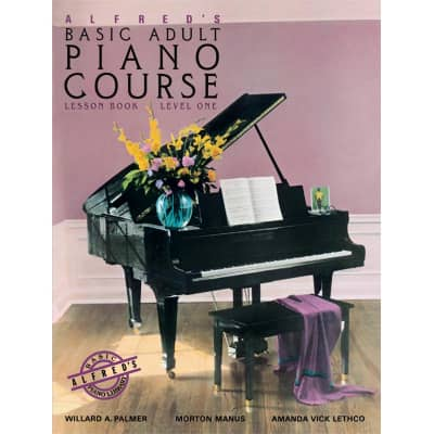 Alfred's Basic Adult Piano Course: Lesson Book - Level 1