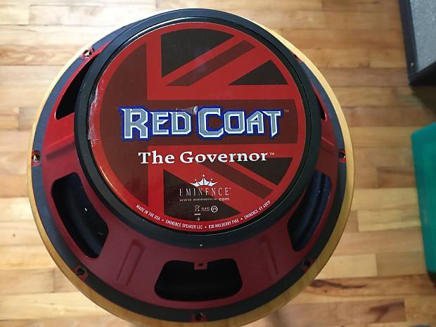 Eminence Red Coat Governor 2015 Red basket 12