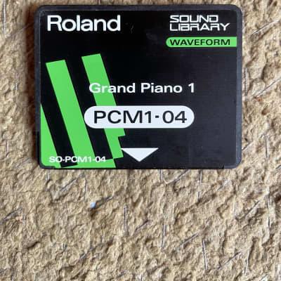 Roland SO-PCM1-04 Grand Piano 1 Sound Library Waveform Card for JV-80 / 880