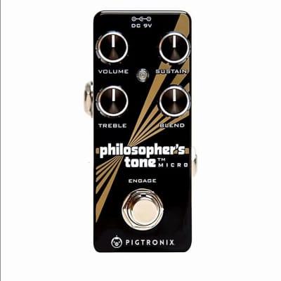 Pigtronix Philosopher's Tone Micro Compressor Sustainer Pedal