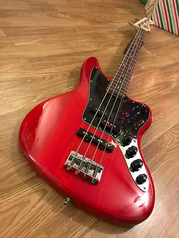 squier vintage modified jaguar bass special bass guitar reverb. Black Bedroom Furniture Sets. Home Design Ideas