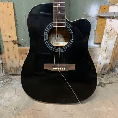 Palmer Acoustic electric guitar Black for sale