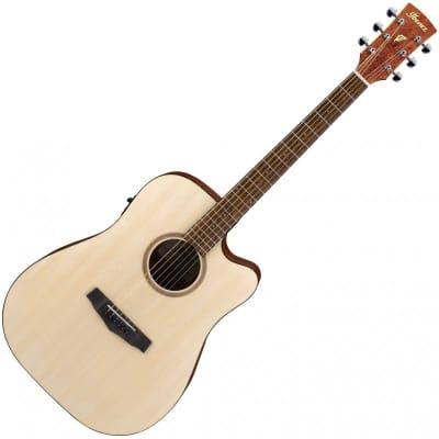Ibanez PF10CE−OPN guitar acoustic open pore natural for sale