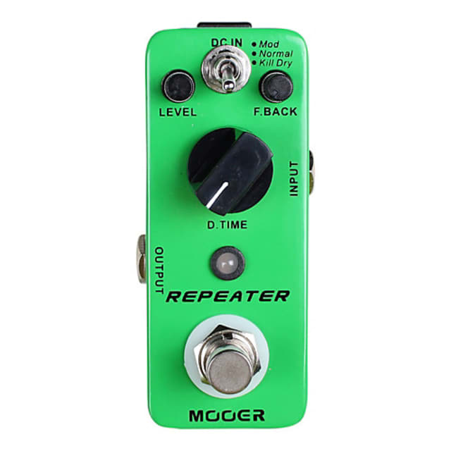 Mooer Repeater Delay Effect Pedal image