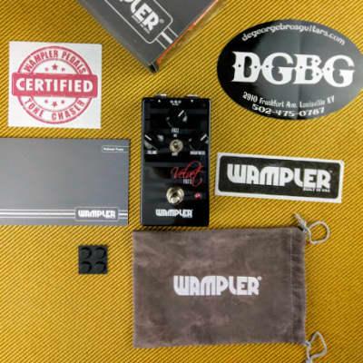 Wampler Velvet Fuzz (w/Free Shipping) Authorized Dealer for sale