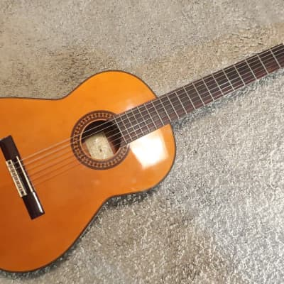 Vintage 1970s Conn C-10 Acoustic Classical Guitar Great Tone MIJ Affordable Student Size 39X14.5X4 for sale