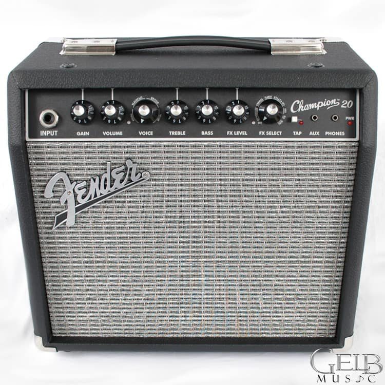Fender Champion 20 Guitar Combo Amp Review : fender champion 20 guitar combo amp in black 2330200000 reverb ~ Vivirlamusica.com Haus und Dekorationen