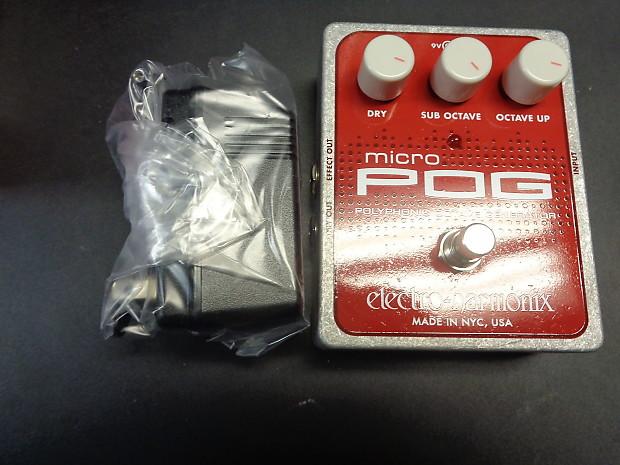 new electro harmonix micro pog polyphonic octave generator reverb. Black Bedroom Furniture Sets. Home Design Ideas