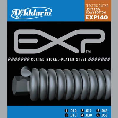 D'Addario EXP140 Coated Nickel-Plated Steel Strings