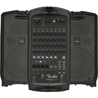 Fender Passport Venue Series 2 Portable Powered PA System - 600W
