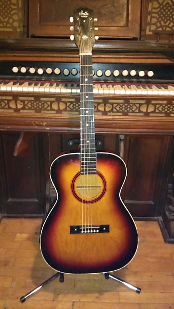vintage 1969 harmony stella h943 acoustic guitar hardcase reverb. Black Bedroom Furniture Sets. Home Design Ideas