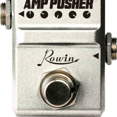 Rowin LN-323 Amp Pusher NANO Series Tube Screamer TS 808 Type Tones True Bypass Pedal Ships Free