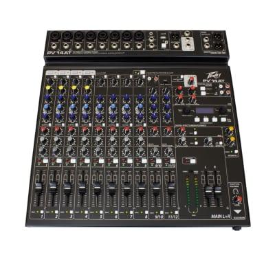 Peavey PV 14 14 Channel Stereo Mixer Auto Tune