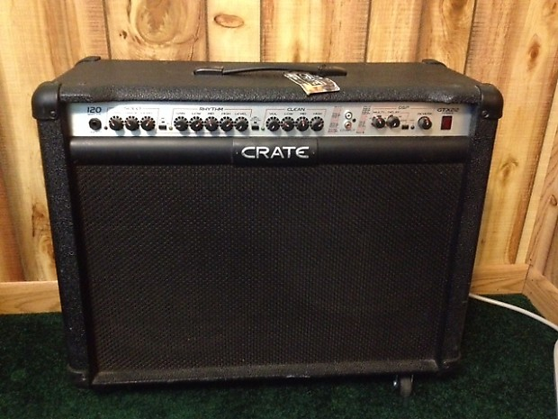 crate gtx212 guitar amplifier with digital effects 120 reverb. Black Bedroom Furniture Sets. Home Design Ideas