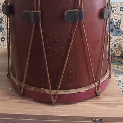 Rope snare drum Mr.H.Peck.Hartford.Connecticut 1890 - 1920
