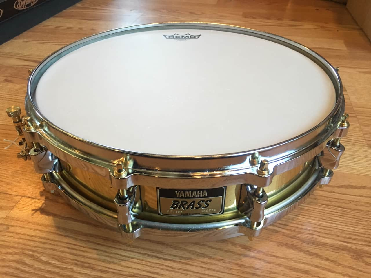 Yamaha 14 x 3 5 seamless brass piccolo snare reverb for Piccolo prices yamaha