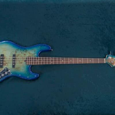 Bensons Jazz Bass Blue Burst for sale