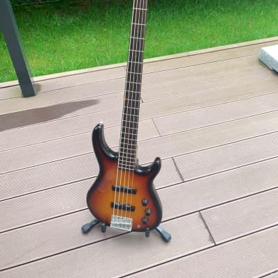 Fender MB-5 Bass 1994 - 1996 Brown Sunburst (Made by Fuji-gen, Japan) for sale