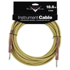 Fender Fender® Custom Shop Performance Series Cable, 18.6', Tweed