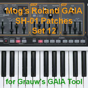Mog's Roland GAIA Patches - Set 12