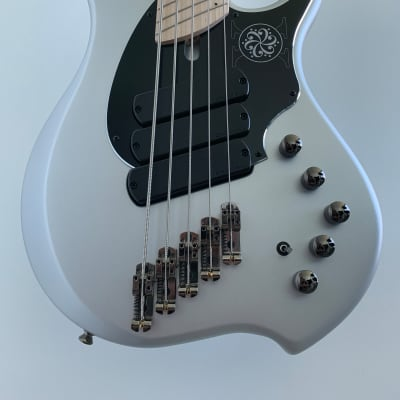 Dingwall NG-3 Darkglass 10th Anniversary Limited Edition Matte Silver for sale