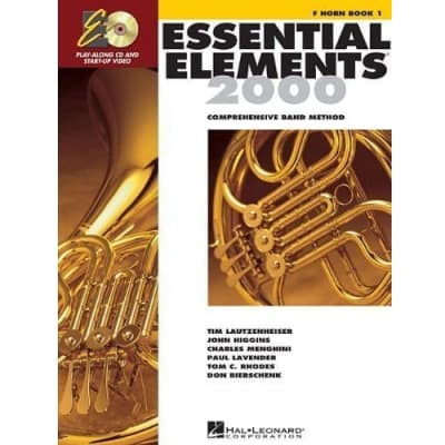 Essential Elements 2000: Comprehensive Band Method - French Horn | Book 1 (w/ CD)