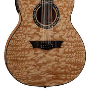 dean exqa12 gn exhibition quilted ash 12 string dreadnought reverb. Black Bedroom Furniture Sets. Home Design Ideas