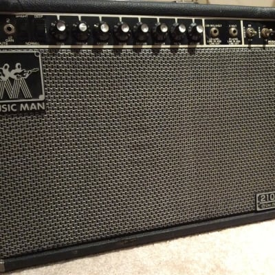 "Music Man 210 RP One Hundred 100-Watt 2x10"" Guitar Combo with Phaser 1980 - 1984"