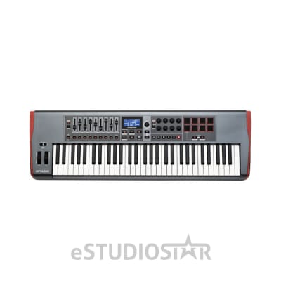 Novation Impulse 61 USB-MIDI Keyboard  - Open Box, Return