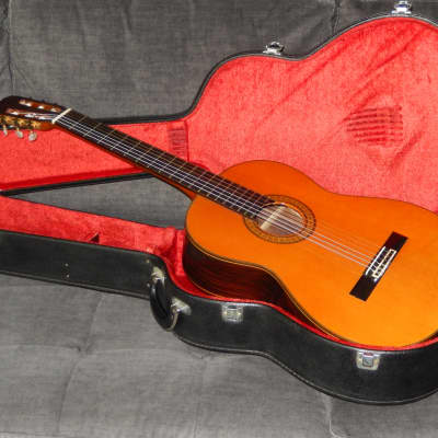 RARITY - TAKAMINE ELITE G500 1977 - SWEET AND POWERFUL CLASSICAL CONCERT GUITAR
