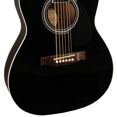 Indiana IDA-BK Dakota 39 Series Concert Shape Spruce Top 6-String Acoustic Guitar for sale